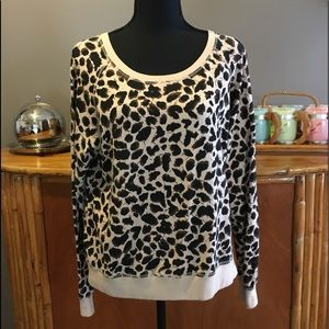 Forever 21 Leopard Sweat Shirt
